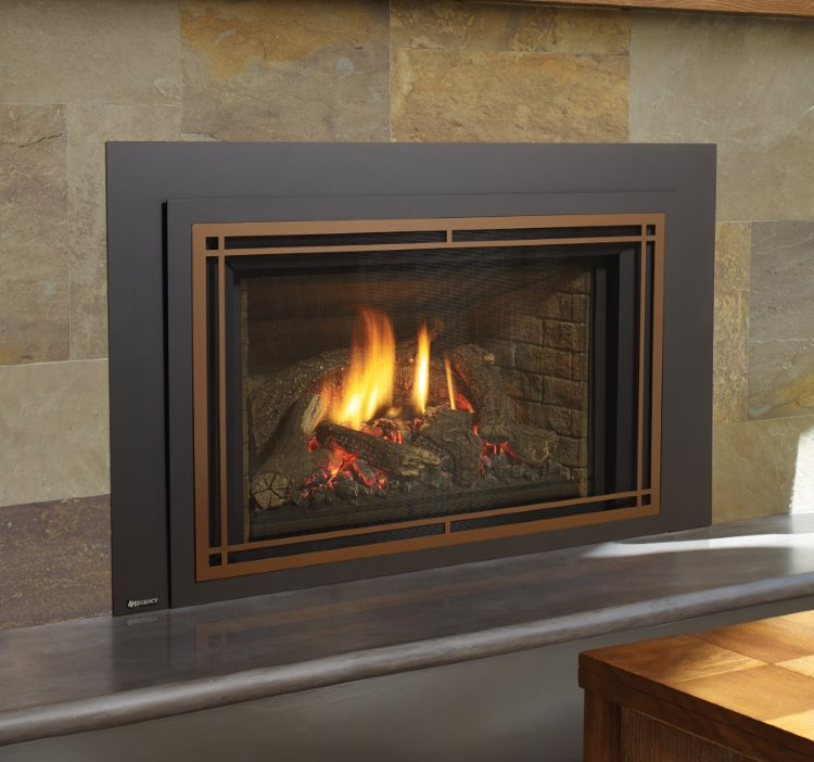 Fireplace Design high efficiency fireplace insert : Regency Liberty® LRI6E Large Gas Insert – Portland Fireplace Shop
