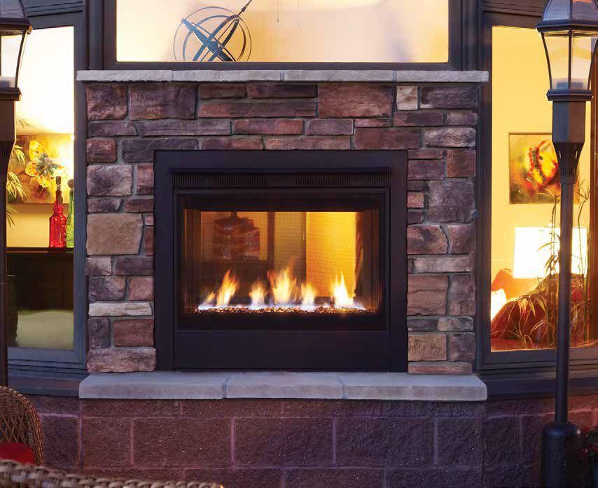 Heat Glo Outdoor Lifestyles Twilight Modern Gas Fireplace