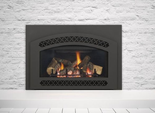 Supreme-I30 Gas Insert with Chateau front in black