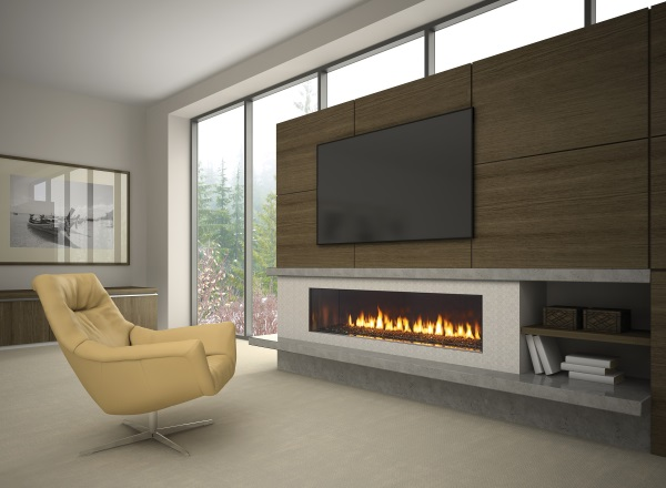 Regency City Series New York View 72 Gas Fireplace