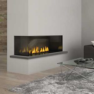 Regency City Series™ Chicago Corner 40 Gas Fireplace