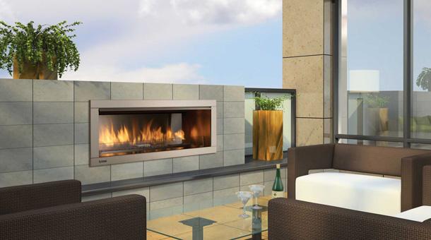 Regency Horizon Hzo42 Outdoor Gas Fireplace Portland Fireplace Shop