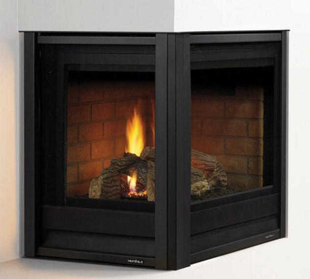 Heat Glo Corner Series Gas Fireplace Portland Fireplace Shop