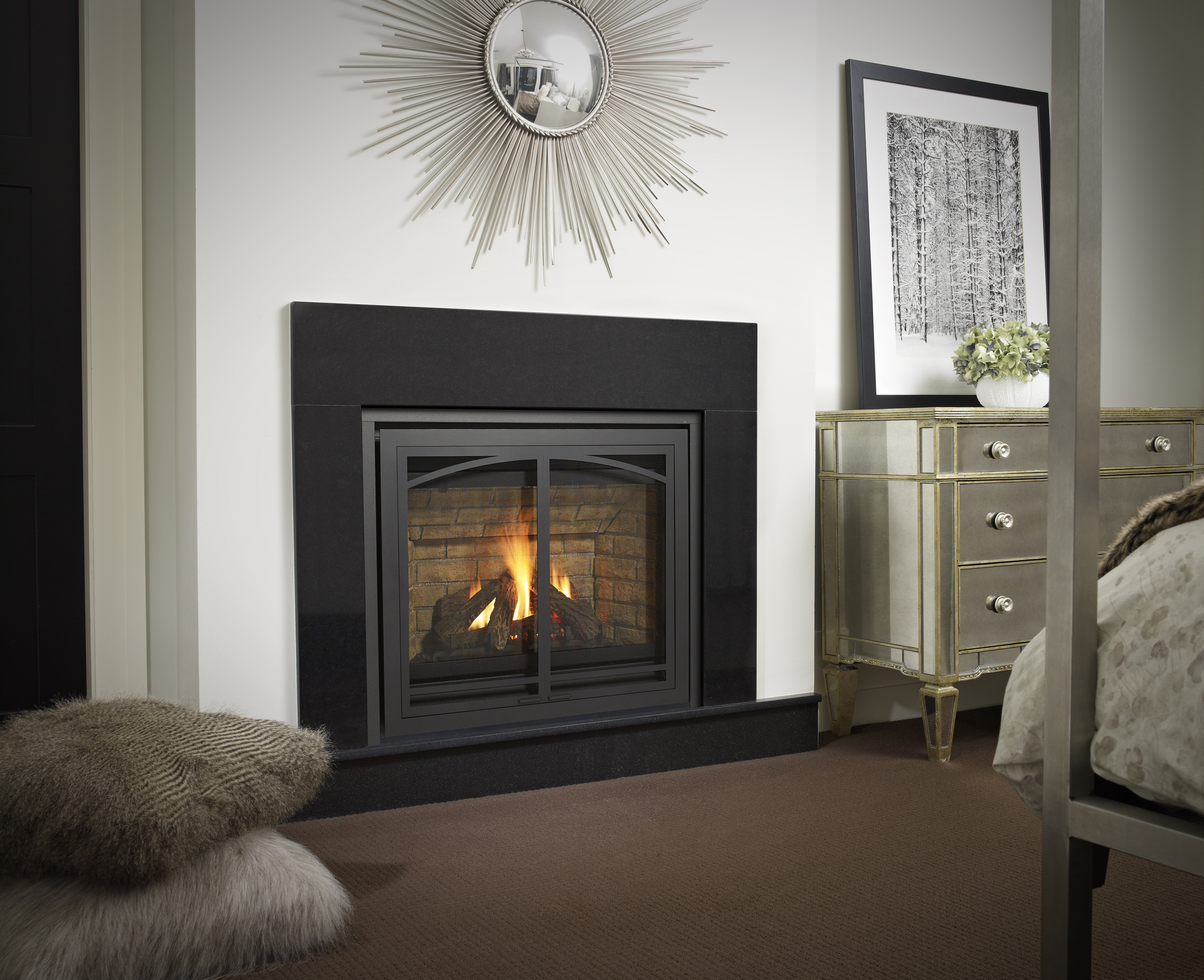 regency panorama p33e gas fireplace u2013 portland fireplace shop
