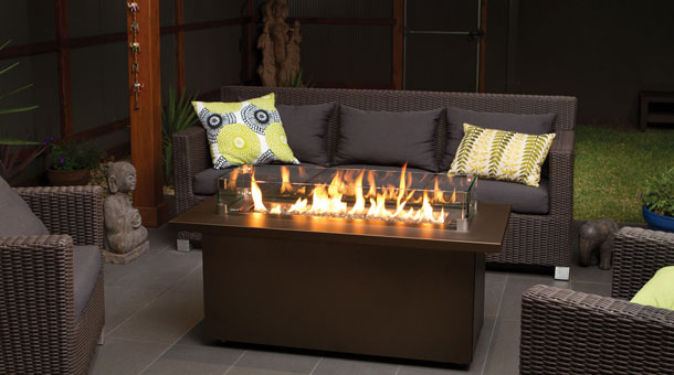 Regency Plateau 174 Pto30cft Outdoor Gas Firetable Portland