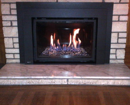 Largest Contemporary Gas Insert On The Market Portland
