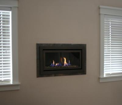 Master bedroom gas fireplace – Portland Fireplace Shop