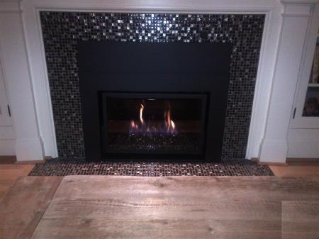 Modern Gas Insert Portland Fireplace Shop