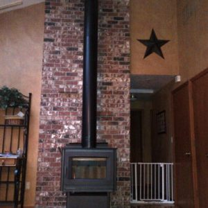 Largest wood stove