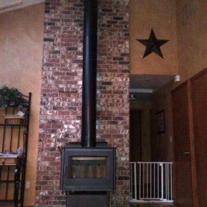 Largest wood stove