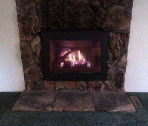 Gas insert with latest technology