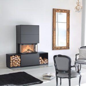 Regency Contura Ri50 Free Standing Wood Fireplace