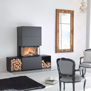 Regency Contura Ri50 Free Standing Wood Fireplace