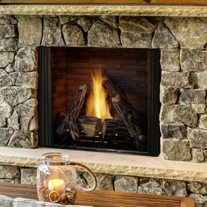 Heat & Glo Courtyard <br />Gas Fireplace