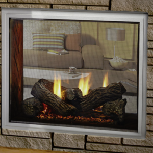 Heat & Glo Fortress See-Through <br />Gas Fireplace