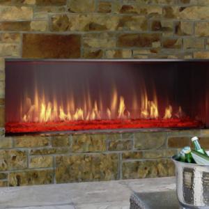 Heat & Glo Outdoor Lanai Gas Fireplace