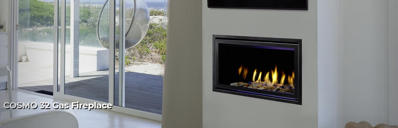 Heat & Glo Cosmo 32 Gas Fireplace – Portland Fireplace Shop