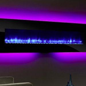 Heat n Glo SimpliFire Wall-Mount Electric Fireplace