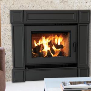 Ladera Wood Fireplace